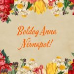 Anna névnap képeslap