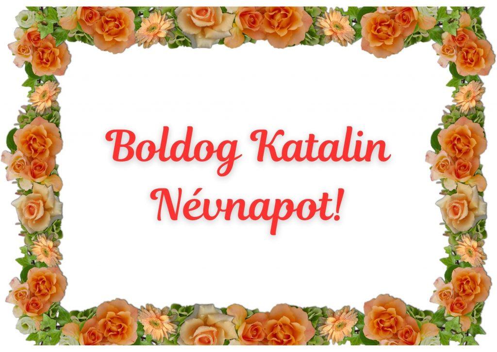 Katalin névnapra képeslap