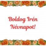Irén névnapi képeslap