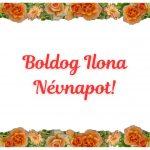 Ilona névnapi képeslap