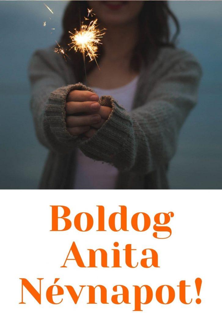 Anita névnapi képeslap