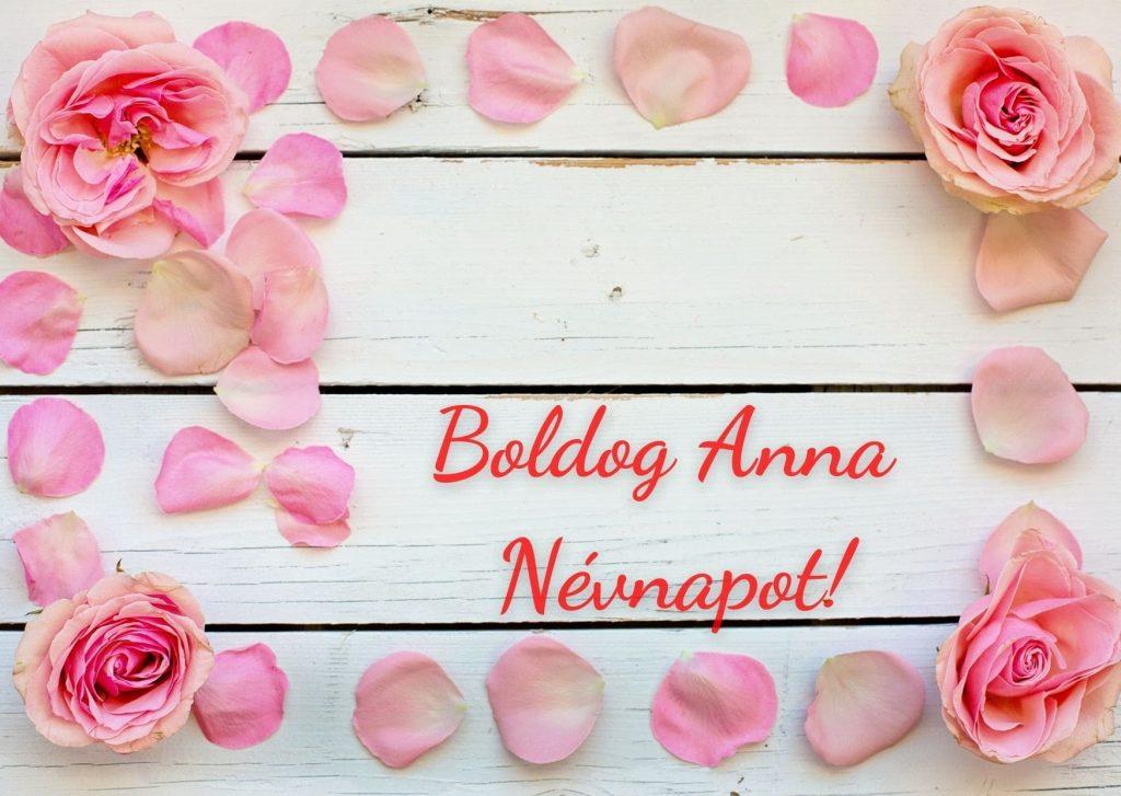 Anna névnapi képeslap