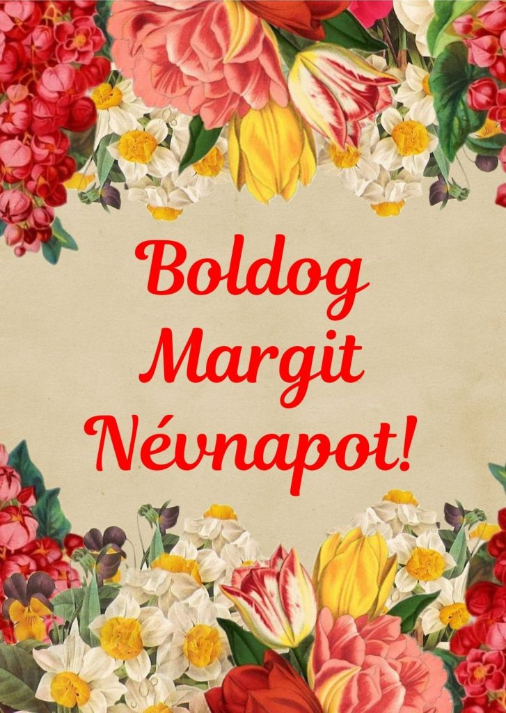 Margit napra képeslap