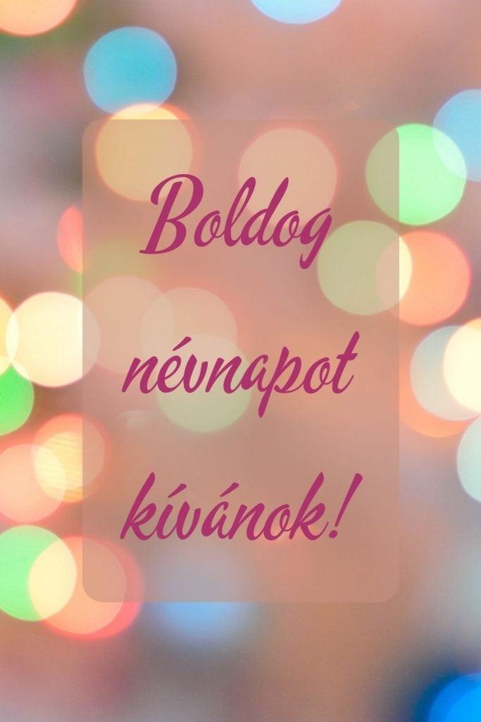 Boldog névnapot képeslap facebookra