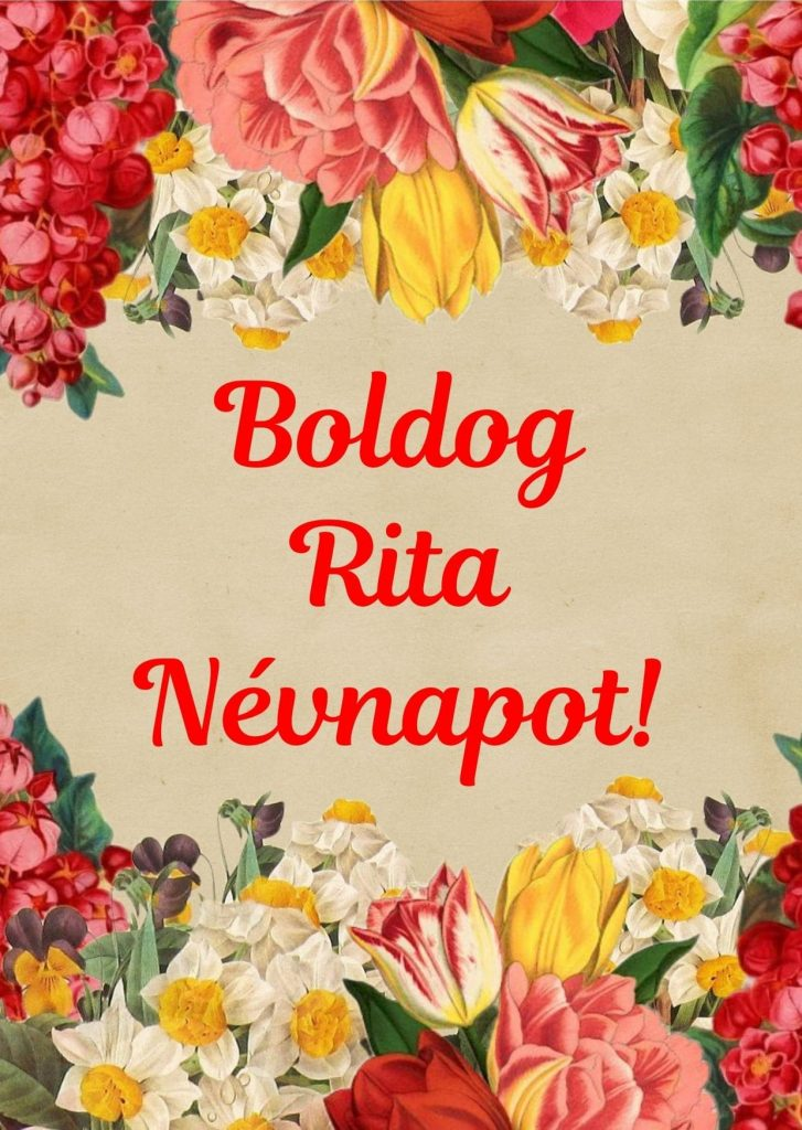 Rita napra képeslap