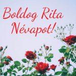 Rita névnapi képeslap