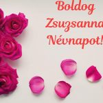 Zsuzsanna névnapi képeslap