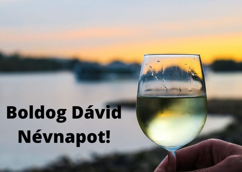 Dávid névnapi képeslap