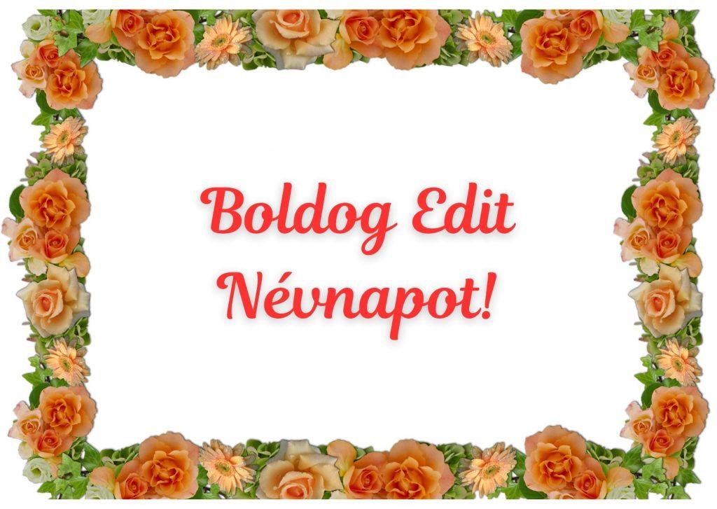 Edit névnapi képeslap