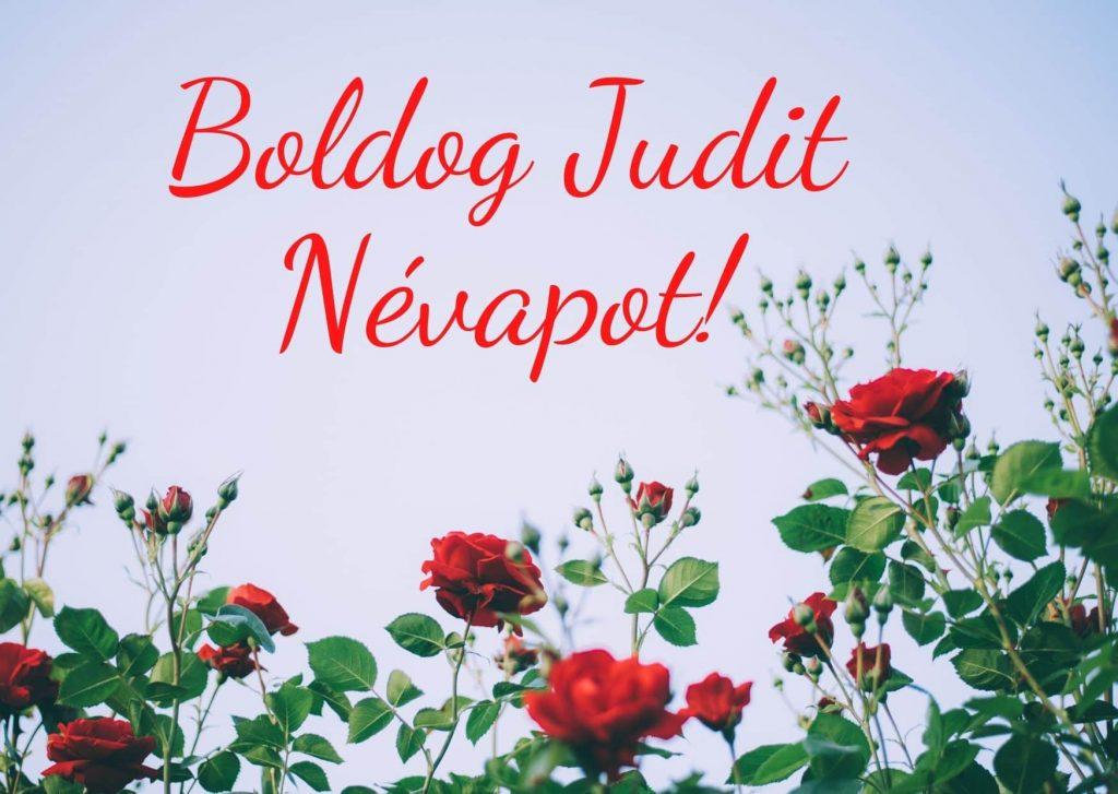 Judit névnap képeslap