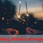 mónika névnap képeslap