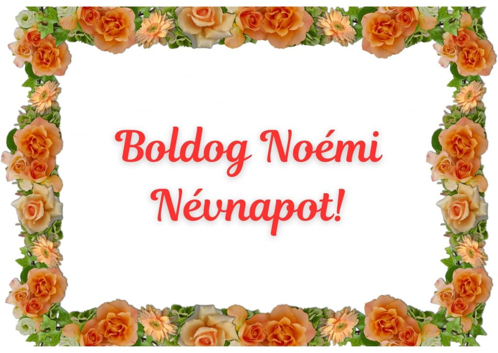 Noémi napra képeslap