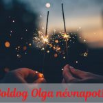 Olga napra képeslap