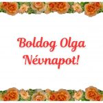 Olga névnapi képeslap