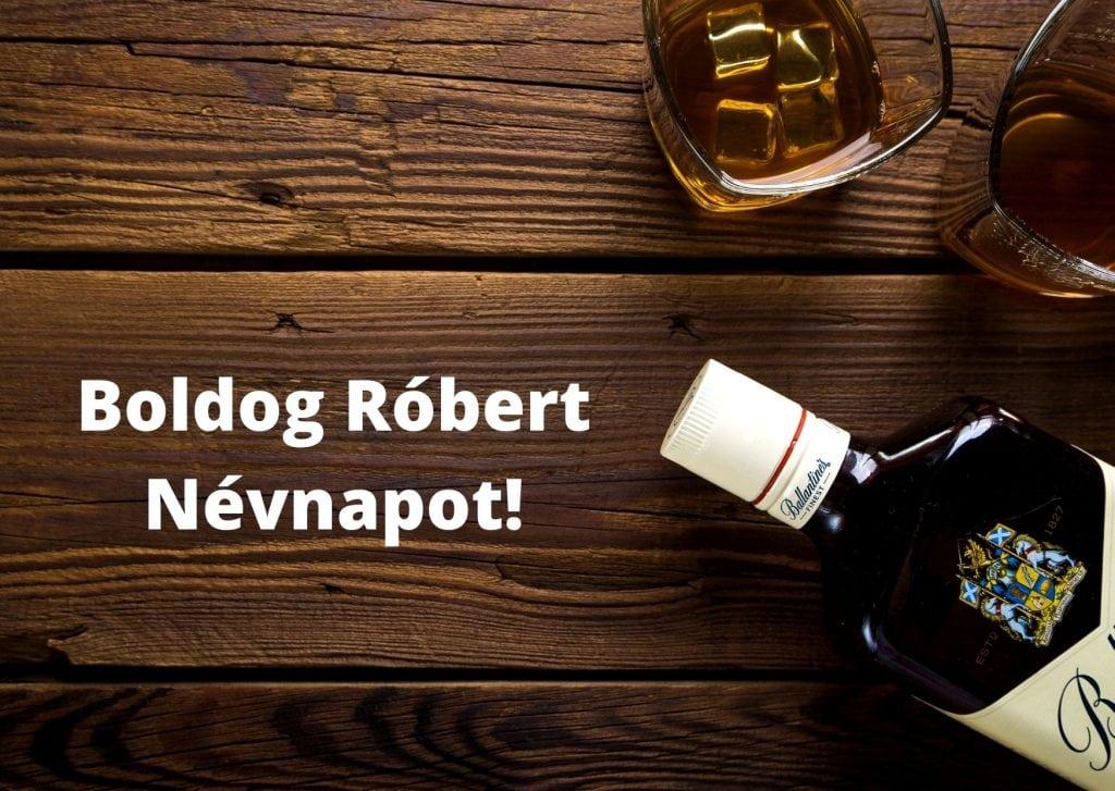 Róbert névnapi képeslap