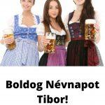 Tibor napra képeslap